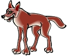 Dog Cartoon Animal Vector Clipart