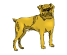 Dogs Angre Animal Vector Clipart