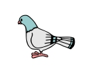 Birds Dove Vector Free Clipart