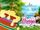 Pongal greeting wallpaper