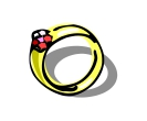 Fashion Ring Vector Free Clipart