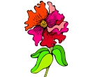Flower Petunia Vector Free Clipart