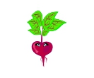 Food Cartoon Beetroot Vector Free Clip Art