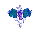 Grapes Vector Free Clipart