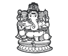 Ganesha Indian God Vector Clipart