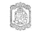 Indian Hindu God Lord Vinayagar Pilayar Ganapathi