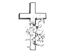 Jesus Symbol 2 Drawing God Vector Clipart