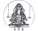black and white vinayagar