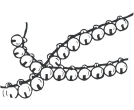 Anklets Jewellery Drawing Vector Cliparts