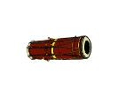 Music Instrument Dholak Vector Clipart