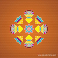All festivel kolam design