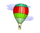 Travels Air Balloon 1 Vector Free Cliparts
