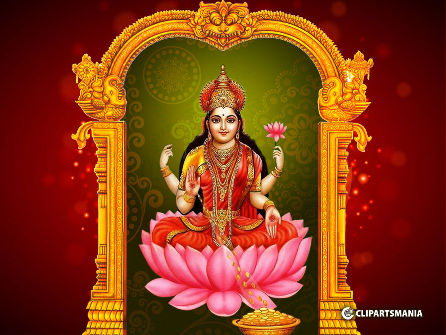 Sri Mahalakshmi God Wallpapers Mahalakshmi God Desktop Wallpapers Download Best Maha Lakshmi Gold Hd Wallpaper Clipartsmania Com