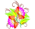 Cliparts for flower